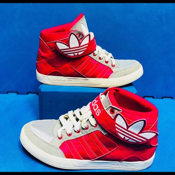 Aflojar Palacio silencio  adidas Shoes | Pink Basketball D74330 Womens 6 | Poshmark